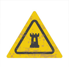 Warning/Street Sign - Fortress