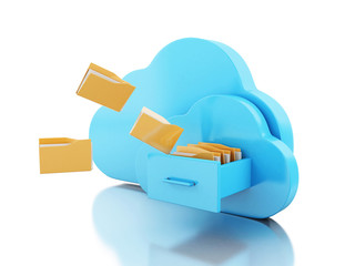 3d File storage in cloud.