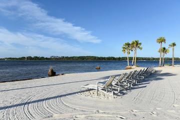플로리다 파나마 시티의 해변