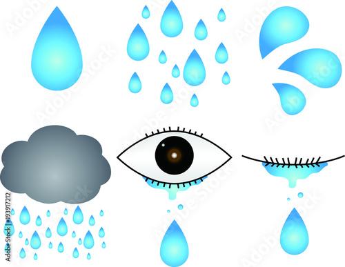 rain and tear sets fotolia com の ストック画像とロイヤリティフリーの