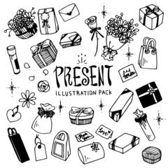 Present Illustration Pack