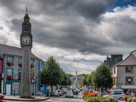 Westport in western Ireland, County Mayo