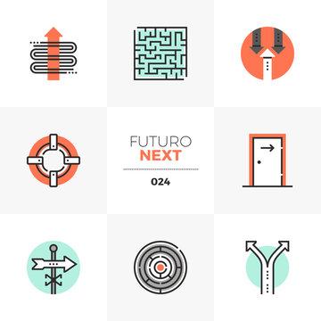 Business Concepts Futuro Next Icons