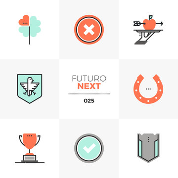 Business Metaphors Futuro Next Icons