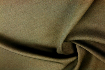 "cloth wool suit tea. Very cute two-sided gray brown antique fabric. Beautiful woolen suits of retro fabrics. This fabric makes beautiful ""waves"" for clothes and is just perfect for your ship projects."