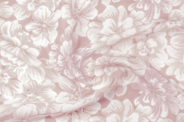 Texture, pattern. Cloth - silk chic floral background.  Floral Watercolor, Surface Pattern Design, Watercolor Floral Pattern, Pink Peony, White Rose, Red Tulip, Anemone Flowers, Surface Pattern Design