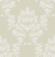 Damask pattern texture Vector. Royal fabric background. Luxury background decors