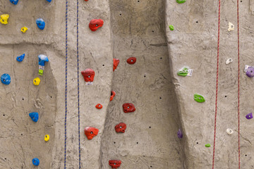 Artificial climbing wall 2