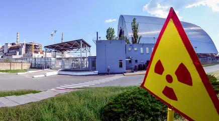 Sarcofago per il reattore n. 4 di Chernobyl