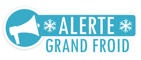 Alerte grand froid Wall mural