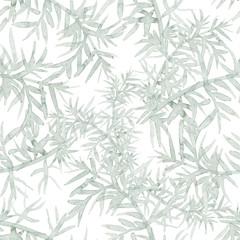 light watercolor plants pattern