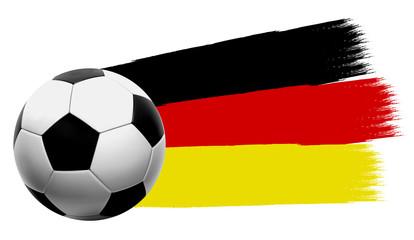 Fußball Button, Icon