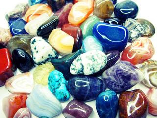 amethyst quartz garnet jasper agate geological crystals collection