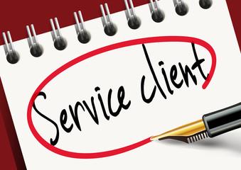 service client - client - consommateur - vente - service - consommation - conseil - contact - qualité