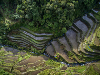Banaue RiceTerraces in Philippines. Landscape and Nature.