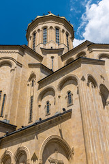Holy Trinity Cathedral of Tbilisi (also known as Sameba Cathedral) Georgia, Eastern Europe.