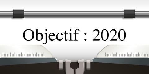objectif - objectif 2020 - projet - challenge - 2020 - entreprise - stratégie - présentation