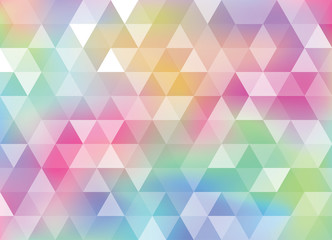 Wall Mural - Holographic foil vector iridescent rainbow texture