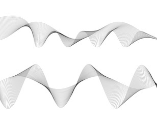 design element many wavy lines tape effect02
