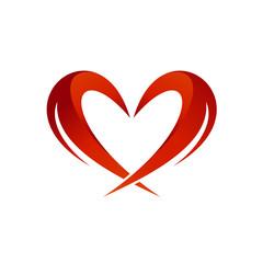 Love Abstract Logo Vector