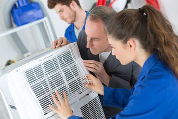 keeping the ventilator clean