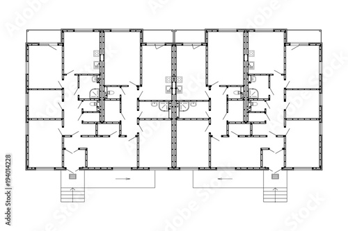 Apartment house floor plans unfurnished apartments for your design apartment house floor plans unfurnished apartments for your design vector ground floor plans blueprint malvernweather Image collections