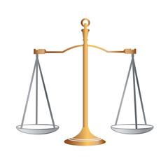 design element symbol scales legal icon law theme3