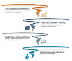 finance presentation design element infographic company07