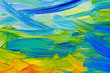 oil paints background art abstract