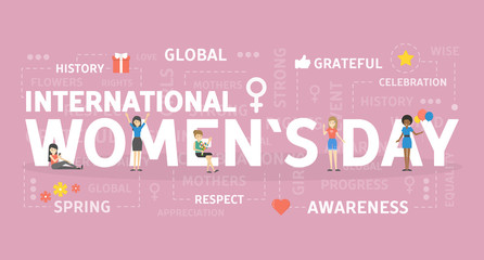 International womans day.