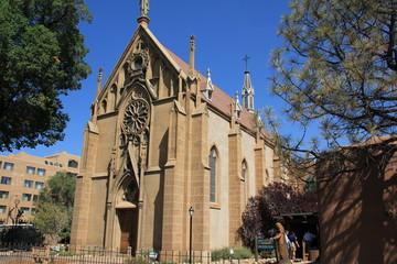 Loretto Chapel in Santa Fe New Mexico USA