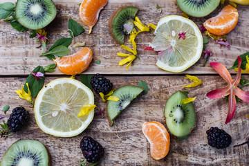 styled fruit