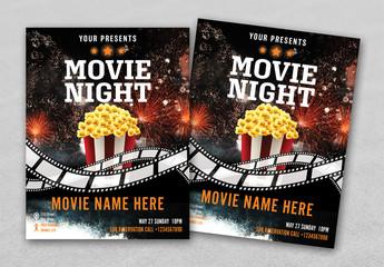 Cinema Flyer Layout 1