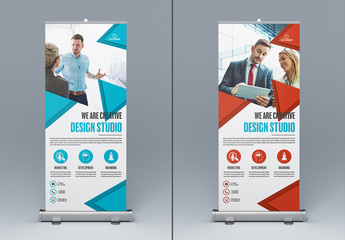 Two Marketing Kiosk Banners 3