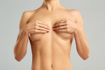 Plastic surgery of the female breast