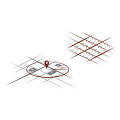 Isometric city schemes