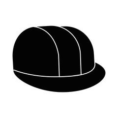 helmet construction isolated icon vector illustration design
