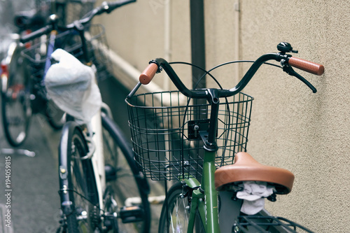 Side-by-side Bicycle in Japan The Japanese population is very