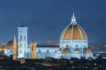 Wall Mural - Italy. Florence. Cathedral Santa Maria del Fiore
