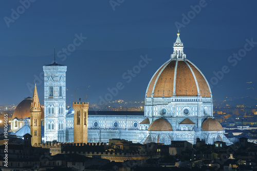 Fototapete Italy. Florence. Cathedral Santa Maria del Fiore