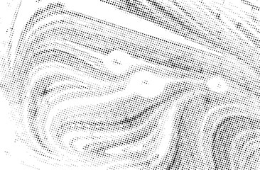 Black and white grunge texture. Abstract halftone background. Vector pattern.