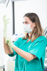 Dental hygienist photo