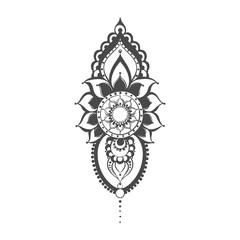 Vector henna mehndi