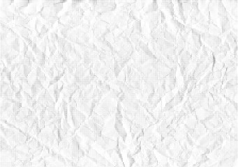 Vector background halfton crumpled paper.