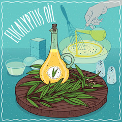 Eucalyptus oil used for cooking