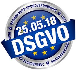 """Button Banner """"DSGVO"""" Europa"""