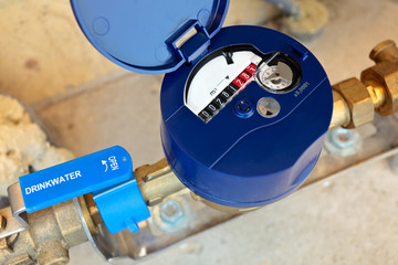 Dutch residential water meter