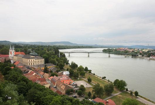 Esztergom, city on the Danube, Hungary
