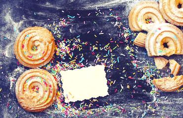 Deurstickers Imagination March 8, International Women's Day, homemade cookies