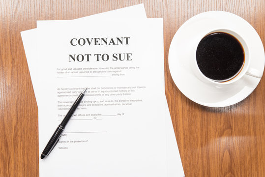 convenant not to sue